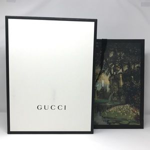 Gucci T-shirt Box and Bag
